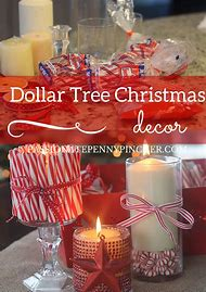 dollar tree christmas decoration idea