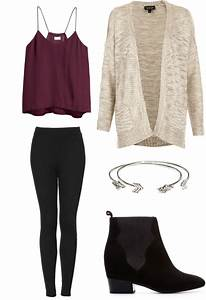 Fashion Ideas for Designs with Easy Winter Fashion with Black Leggings 20274 | mamiskincare.net