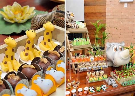Safari And Jungle Theme Baby Shower Party  Baby Shower Ideas
