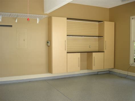 Built In Garage Storage Cabinets Idea Railing Stairs And