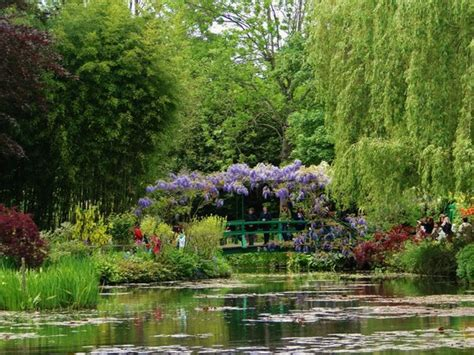 monet s garden picture of claude monet s house and