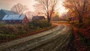Download Wallpaper 1366x768 Fantastic scenery, autumn ...