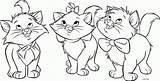 Cats Coloring Printable Didi Cat Pages Colouring Kitty Sheet Three Sheets Printables Friendly Cartoon sketch template