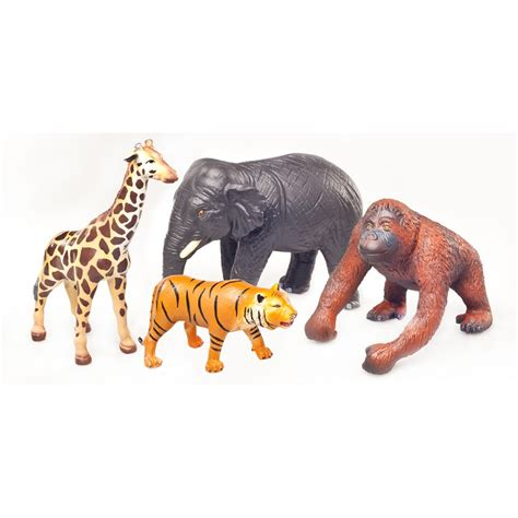 elephant nursery bedding green rubber toys farm playset