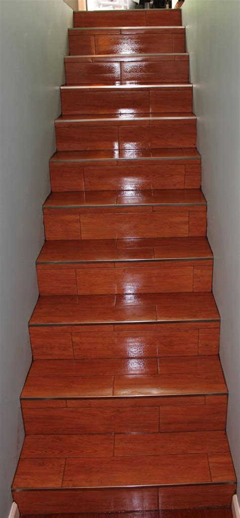 wood tile stairs special features new jersey custom tile