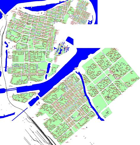 Карта Балаково с улицами