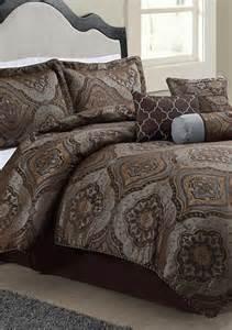 bluestone foulard 7 comforter set belk