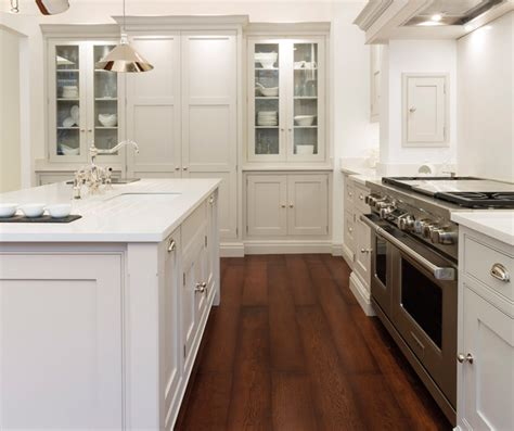 light gray cabinets transitional kitchen tom howley