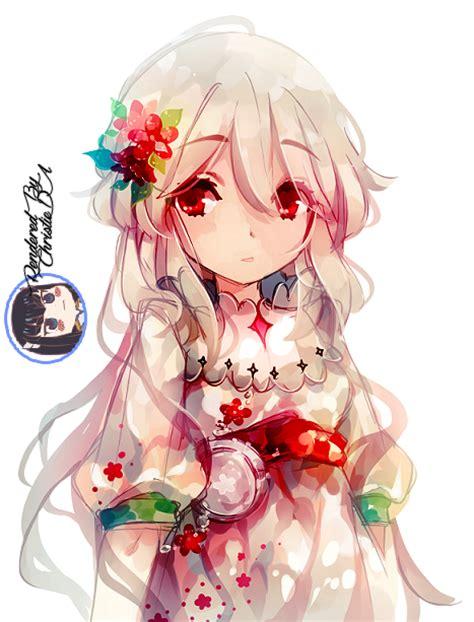 Cute Anime Girl Render By Christieda On Deviantart