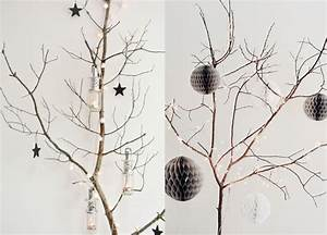 Branche De Bois Deco : 20 inspirations pour une d co de no l aux teintes naturelles joli place ~ Teatrodelosmanantiales.com Idées de Décoration