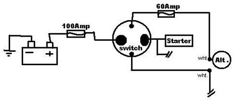 help wiring my 4 pole battery disconnect switch honda tech honda forum discussion