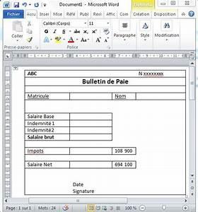 Exemple Bulletin De Paie Avec Indemnité De Licenciement : 5 g rer la paie avec excel utilisez le publipostage pour imprimer les bulletins de paie tss ~ Maxctalentgroup.com Avis de Voitures