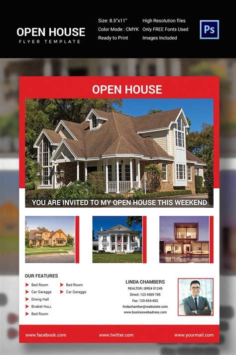 open house flyers printable psd ai word eps