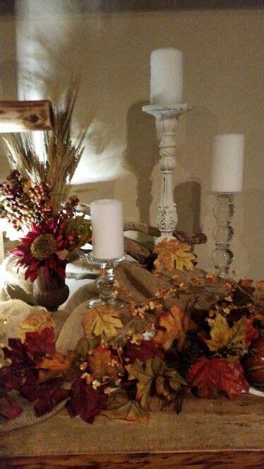 simple autumn altar church churc