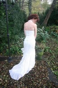 Robe De Mariée Originale : superbe robe de mari e lin a raffaelli glamour et originale ~ Nature-et-papiers.com Idées de Décoration