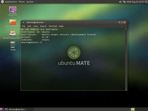 Install L Ubuntu 1404 Desktop by How To Install Mate Desktop On Ubuntu 14 04 Lts