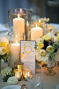centerpieces with candles 43 Mind-Blowingly Romantic Wedding Ideas with Candles ...