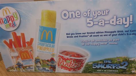 McDonalds snacks - are you kidding me?!