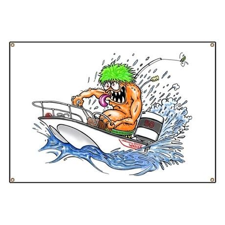 Rat Fink Boat by Whaler Rat Fink Style Banner By Warmouth