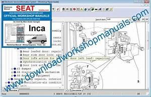 Seat Inca Workshop Repair Manual