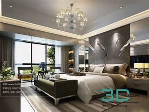 Nice 140  Bed Room 3dsmax File Free Download Download Here       3dmili Com  3d