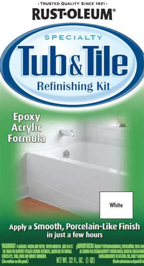 bathtub refinishing kit home depot rustoleum tub and tile paint newsonair org