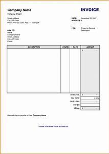 5 blank mobile bill format in word simple bill for Sample bill format in word