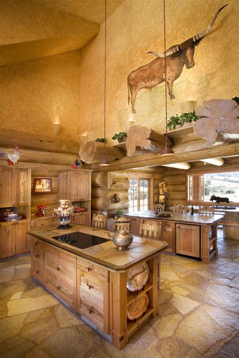 log home kitchens california dreaming a handcrafted log home built to last