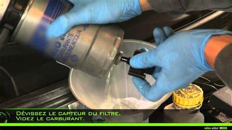 valeo fuel filter montage dun filtre  carburant