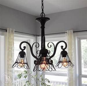 How, To, Makeover, A, Chandelier, In, Farmhouse, Style