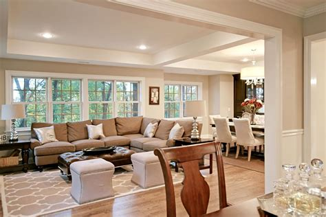 Dining Room Addition Royal Texture Paint Creative Interior Painting Ideas Average Cost Dark Brown Exterior House Colors Concrete Floor Over Faux Brick Paneling Aurora