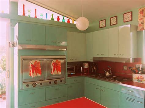 Mid Century Modern Metal Kitchen Cabinets