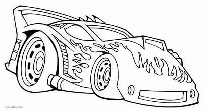 Wheels Coloring Pages Truck Monster Printable Adult