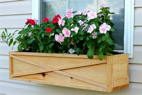 window garden box how to build a cedar window box planter