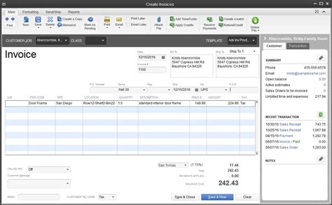 Quickbooks Templates Location by Scanning Invoices Into Quickbooks Invoice Template Ideas