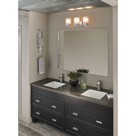 Moen YB8863CH 90 Degree Chrome Vanity Light Bathroom