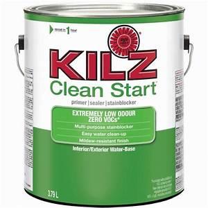 KILZ KILZ CLEAN START Interior/Exterior Primer, Sealer