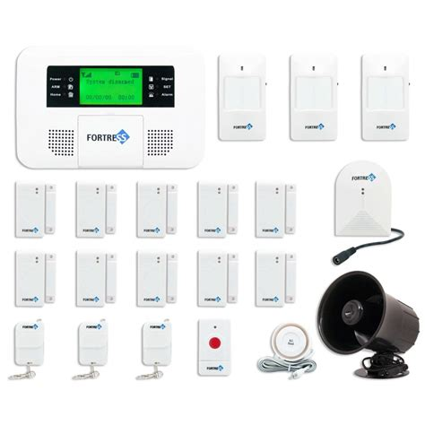 home security system wireless buy gsm e fortress gsm e wireless home security alarm
