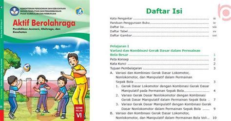 Rangkuman kelas 5 tema 4. Materi PJOK Kelas 6 Kurikulum 2013 Revisi