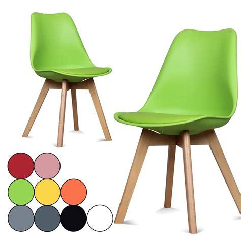 chaises de table à manger chaise coloree