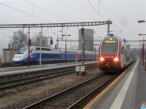 Les Tgv Au Luxembourg