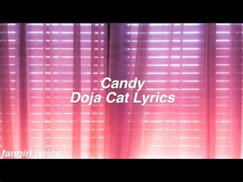 candy doja cat lyrics youtube