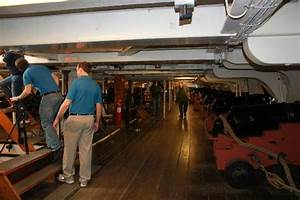 Below deck - Picture of USS Constitution Museum, Boston ...