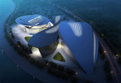 Modern Green Architecture Cultural Modern Green Architect