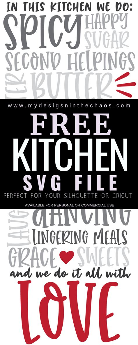 kitchen svg  designs   chaos