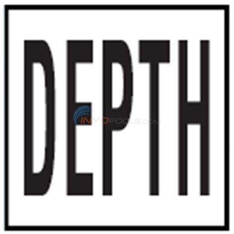inlays depth marker 6 quot skid resistant tile depth 4