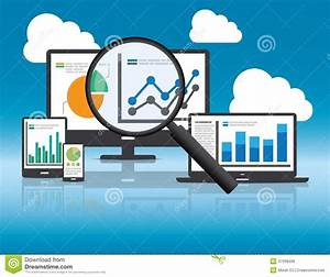 Website Analytics And Seo Data Analysis Concept  Stock