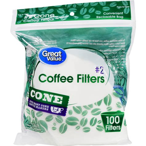 Start with a good espresso. (8 Pack) Great Value Cone Coffee Filters, #2, 1-4 cup, 100 Count - Walmart.com - Walmart.com