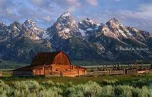 Wyoming Grand Tetons Barn