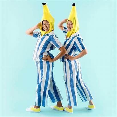 Halloween Costume Bananas Pyjamas Diy Couples Couple